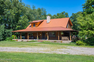 Edwardsburg Single Family Home For Sale: 25030 Davis Lake Street