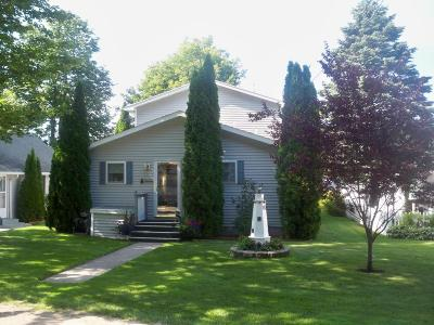 Ludington Single Family Home For Sale: 7016/7024 W 11th Street