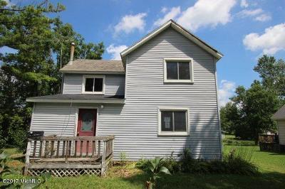 Lake Odessa MI Single Family Home For Sale: $59,400
