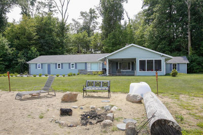 St. Joseph County Single Family Home For Sale: 11110 Coon Hollow Road