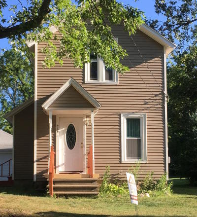 Otsego Single Family Home For Sale: 234 W Franklin