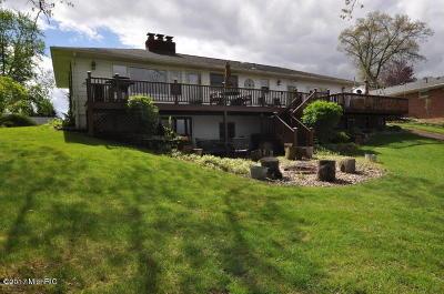 Vicksburg Single Family Home For Sale: 11536 E Indian Lake Drive