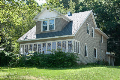 Newaygo Single Family Home For Sale: 134 W State Road