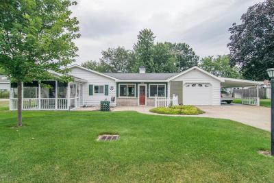 Newaygo Single Family Home For Sale: 8123 Woodruff