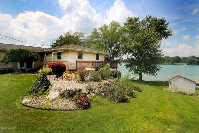 Cass County Single Family Home For Sale: 71196 Indiana Lake Drive