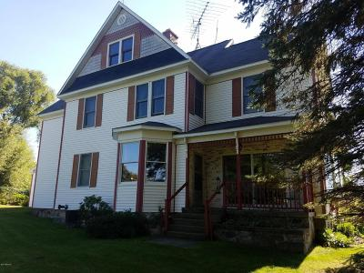 Manistee County Single Family Home For Sale: 11058 Eleven Mile Rd