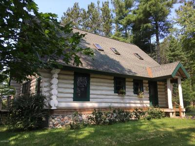 Manistee County Single Family Home For Sale: 18300 Psutka