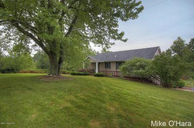 Rockford Single Family Home For Sale: 7195 Nugent Avenue NE