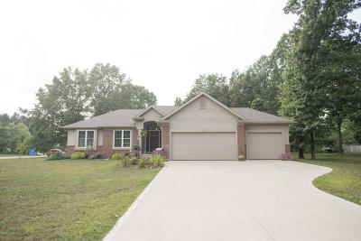 Edwardsburg Single Family Home For Sale: 69914 Knottingham Lane