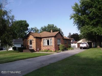 Scottville Single Family Home For Sale: 308 N Reinberg