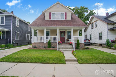 Wyoming Single Family Home For Sale: 1256 Seneca Street SW