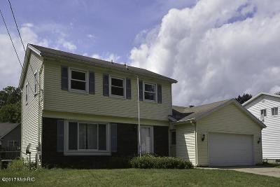 Portage Single Family Home For Sale: 6036 Bradford Street