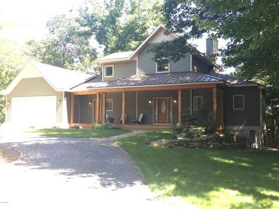 Manistee MI Single Family Home For Sale: $479,000