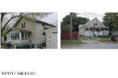 South Haven Single Family Home For Sale: 411-413 Vanburen #2