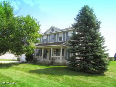 Single Family Home For Sale: 6752 Cannon Farms Drive NE