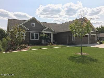 Grand Rapids Single Family Home For Sale: 1776 Bristol Ridge Drive NW