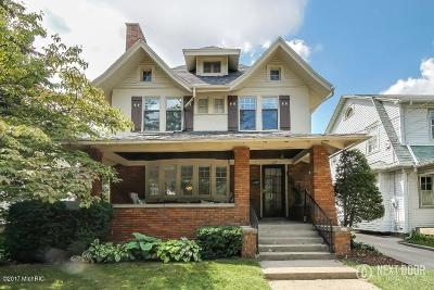 Grand Rapids Single Family Home For Sale: 627 Rosewood Avenue SE
