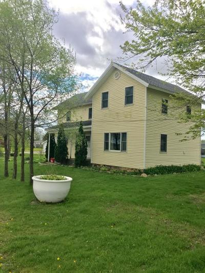 Lake Odessa MI Single Family Home For Sale: $129,000
