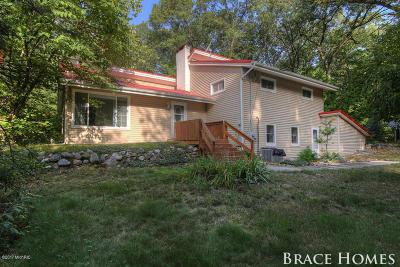 Single Family Home For Sale: 8669 6 Mile Road NE