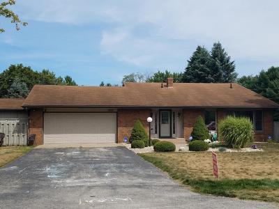 Berrien Springs Single Family Home For Sale: 4855 Riverside Trail