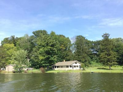 Grand Haven, Ferrysburg, Spring Lake Single Family Home For Sale: 2611 W Fruitport Road