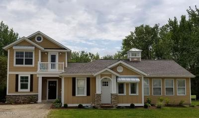 South Haven Single Family Home For Sale: 7256 Beach Drive