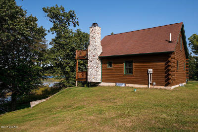 Berrien County Single Family Home For Sale: 7266 Brush Lake Road