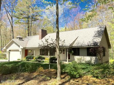 Manistee County Single Family Home For Sale: 9250 S Portage Point Drive