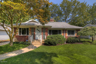 East Grand Rapids Single Family Home For Sale: 2145 Anderson Drive SE