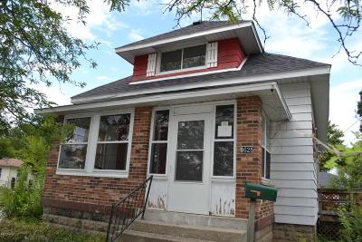 Single Family Home For Sale: 1625 Burton Street SW