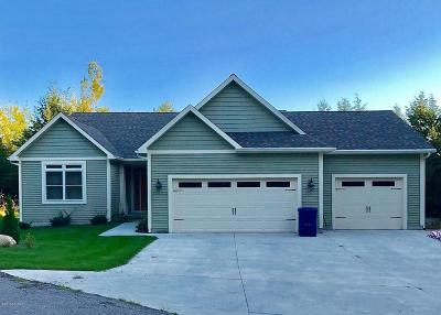 Manistee County Single Family Home For Sale: 9583 Moon Ridge