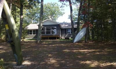 Manistee County Single Family Home For Sale: 4936 E Shingle Mill Way