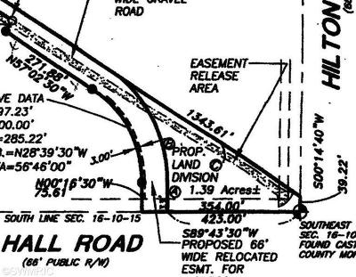Muskegon Residential Lots & Land For Sale: 6372 Hall Road