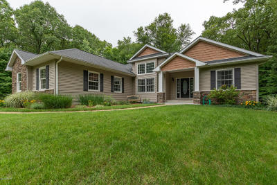 Kalamazoo Single Family Home For Sale: 8704 W G Avenue