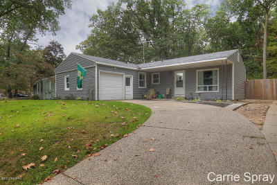 Comstock Park Single Family Home For Sale: 4635 Westshire Drive NW