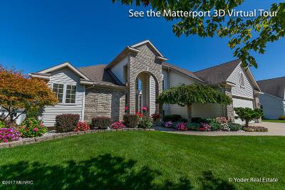 Grand Rapids Single Family Home For Sale: 4093 Tallman Creek Drive NW