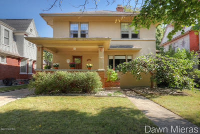 Grand Rapids Single Family Home For Sale: 550 Prospect Avenue SE
