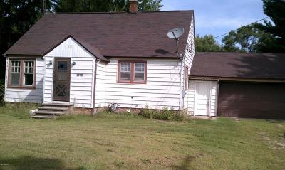Muskegon Single Family Home For Sale: 3710 Heights Ravenna Road