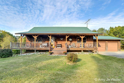 Rothbury Single Family Home For Sale: 8089 S 92nd Avenue