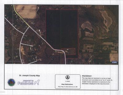 St. Joseph County Residential Lots & Land For Sale: Johnson Road