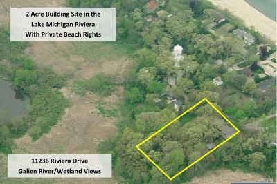 Harbert, Lakeside, New Buffalo, Sawyer, Three Oaks, Union Pier Residential Lots & Land For Sale: 11236 Riviera Drive