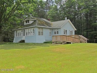Mecosta County Single Family Home For Sale: 14841 30th Avenue