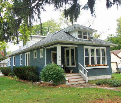 Harbert, Lakeside, New Buffalo, Sawyer, Three Oaks, Union Pier Single Family Home For Sale: 420 W Clay Street