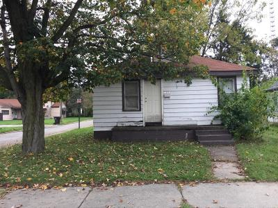 Niles MI Single Family Home For Sale: $25,000