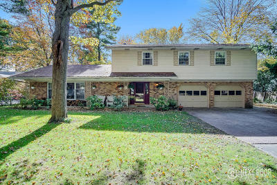 Grand Haven, Ferrysburg, Spring Lake Single Family Home For Sale: 16210 Highland Drive