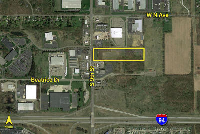 Kalamazoo County Residential Lots & Land For Sale: S 9th Street #10.40 ac