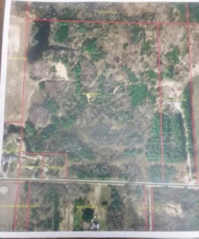 Scottville Residential Lots & Land For Sale: Vl-30 Acre E Wilson Road