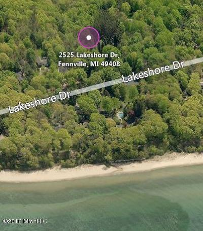 Allegan County Residential Lots & Land For Sale: 2525 Lakeshore Drive