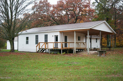 Newaygo County Single Family Home For Sale: 3752 S Locust Avenue