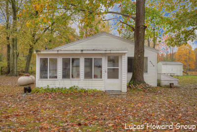 Allegan Single Family Home For Sale: 4216 S Southshore Drive
